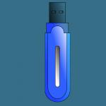 История гаджетов - USB флешка.