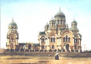 Ныне разрушенный Казанский храм